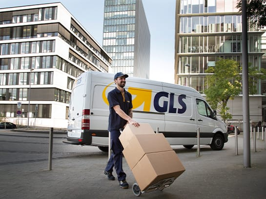 GLS parcel service national parcel delivery