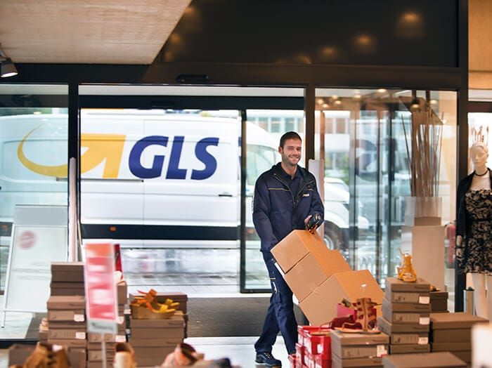 GLS parcel service B2B and multichannel shipping solutions